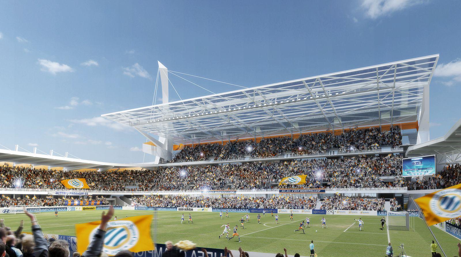 Stade de la Mosson Montpellier