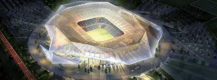 Stade des lumières Lyon