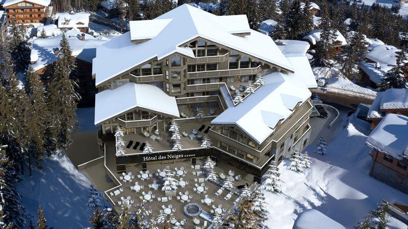 Hôtel des neiges – Courchevel 1850