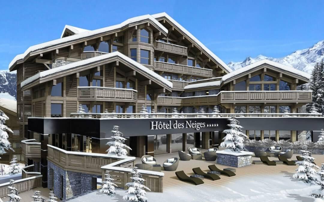 Hôtel des neiges Courchevel