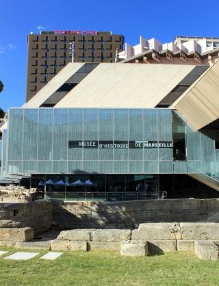 travaux musée histoire de Marseille
